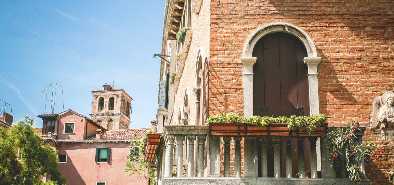 Beautiful Venice Summer Architecture
