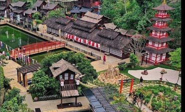 Rekreasi The Great Asia Africa Di Lembang Bandung Yang Sedang Hits